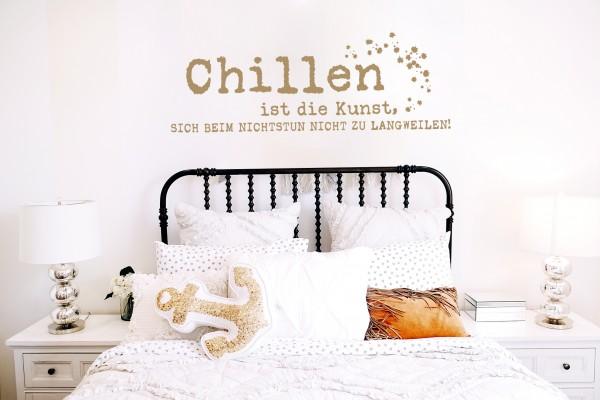 Wandtattoo - Chillen