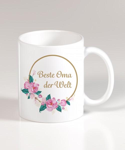 Keramiktasse - Beste Oma der Welt