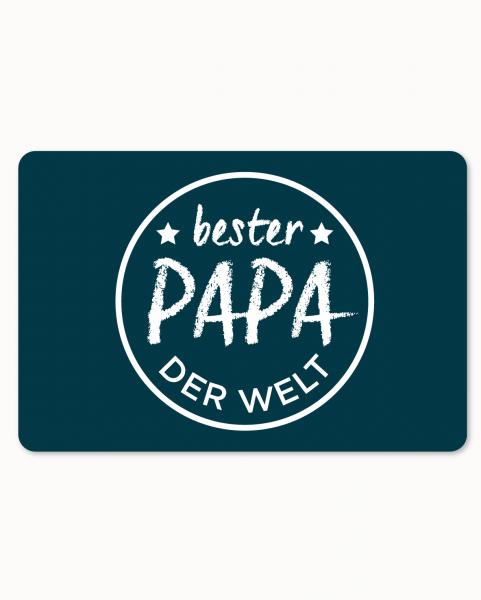 Mauspad - Bester Papa der Welt